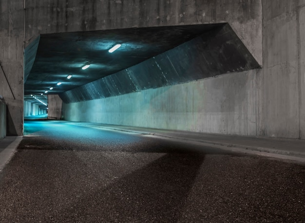 Iluminated tunelu