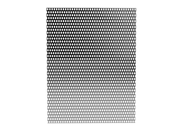 Ilustracja 3d siatka metalowa. metaliczne tło tekstury siatki z odbiciami
