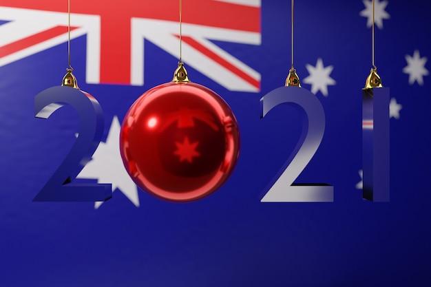 Ilustracja flagi narodowej australii