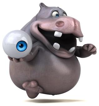 Ilustracja hipopotama