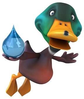 Ilustracja kaczka