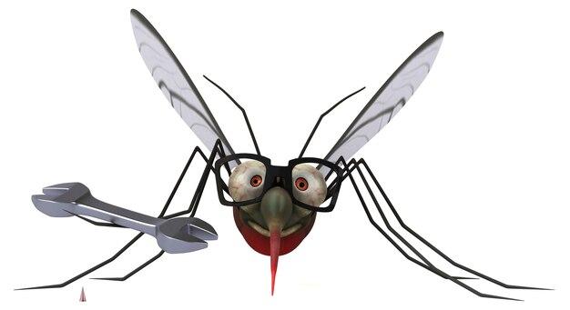 Ilustracja komara