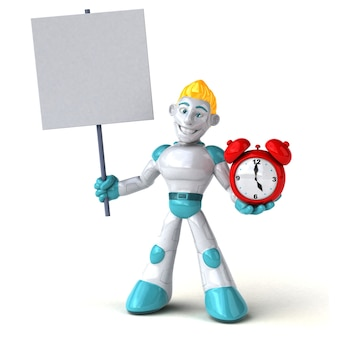 Ilustracja robota
