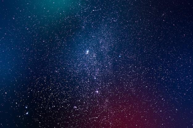 Ilustracja tła ciemnej galaktyki