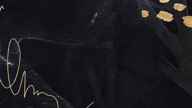 Ilustracja tła społecznego neo memphis w ciemnym tonie