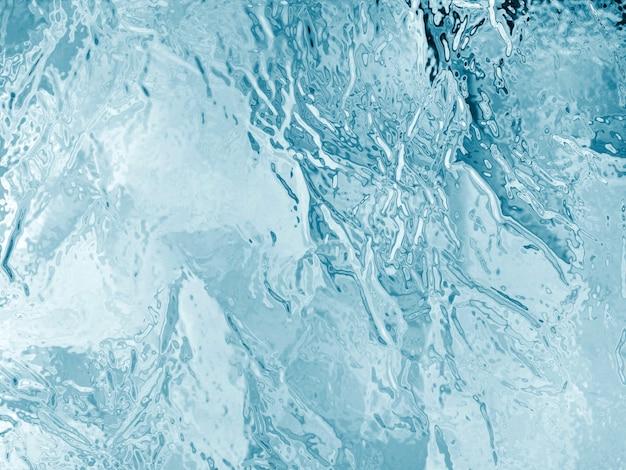 Ilustrowana tekstura zamrożonego lodu