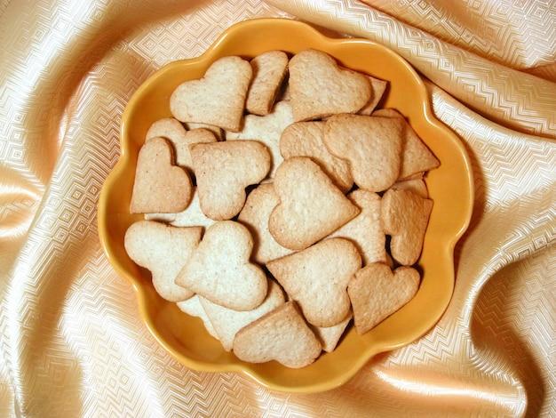 Imbirowe ciasteczka w kształcie serca