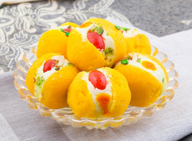 Indian delicious bengali sweet food