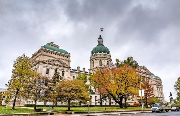 Indiana statehouse, budynek stolicy stanu indiana. indianapolis