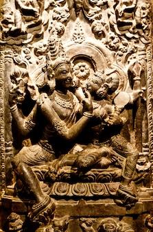 Indie północno-wschodnie, x wiek naszej ery, bazalt
