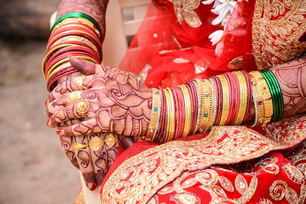 Indyjska ceremonia ślubna