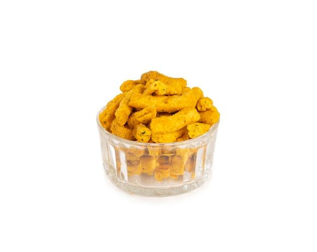 Indyjska tradycyjna pikantna gathiya
