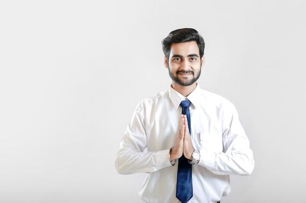 Indyjski młody człowiek