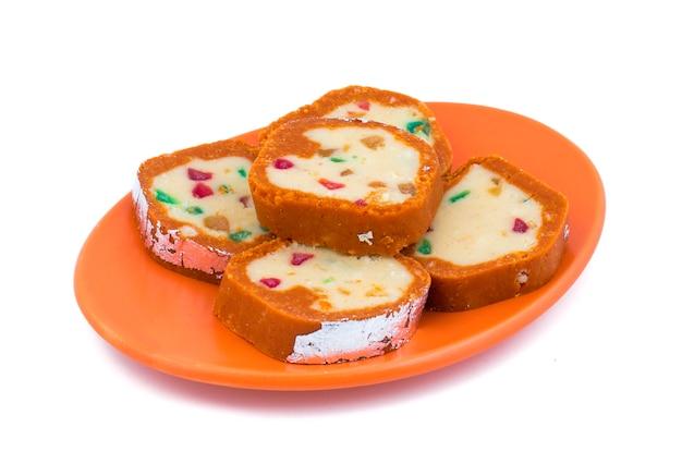 Indyjski słodki kolorowy mawa peda