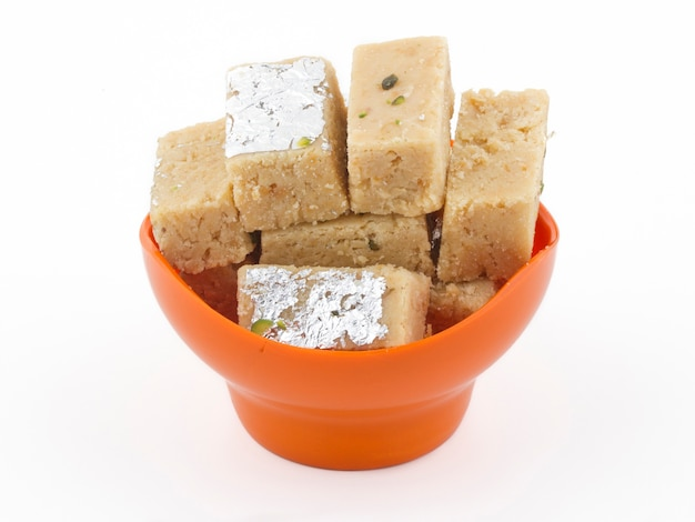 Indyjski słodki pokarm peda