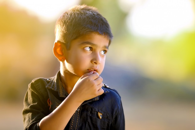 Indyjskie dziecko
