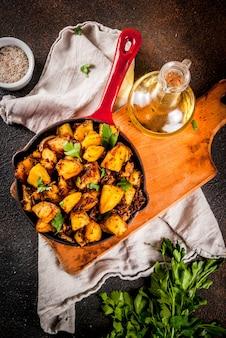 Indyjskie jedzenie, ziemniaki bombay
