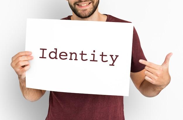 Indywidualność tożsamość kreatywne projektowanie tworzenie logo