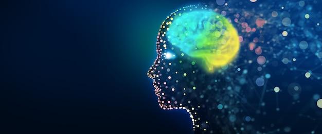 Informacje o analizie cyberumysł uczenie głębokie i maszynowe świadomość sztuczna inteligencja
