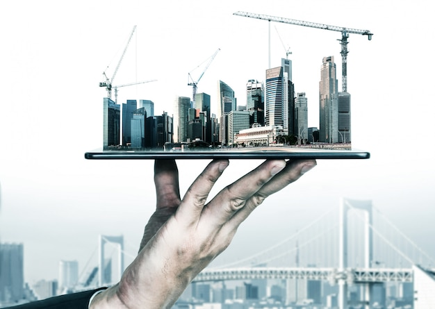Innowacyjna architektura i plan inżynierii lądowej