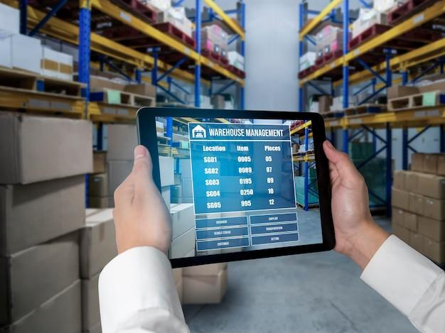 Innowacyjne oprogramowanie do zarządzania magazynem w komputerze do monitorowania w czasie rzeczywistym