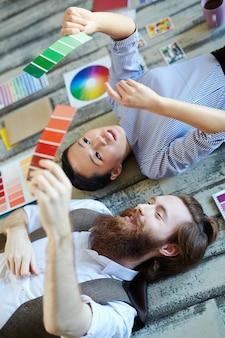 Inspirowani projektanci