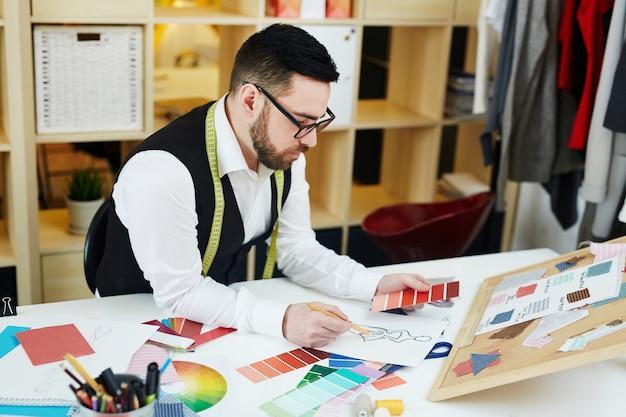 Inspirowany projektant