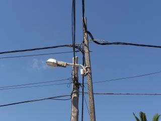 Instalacji elektrycznych chaos