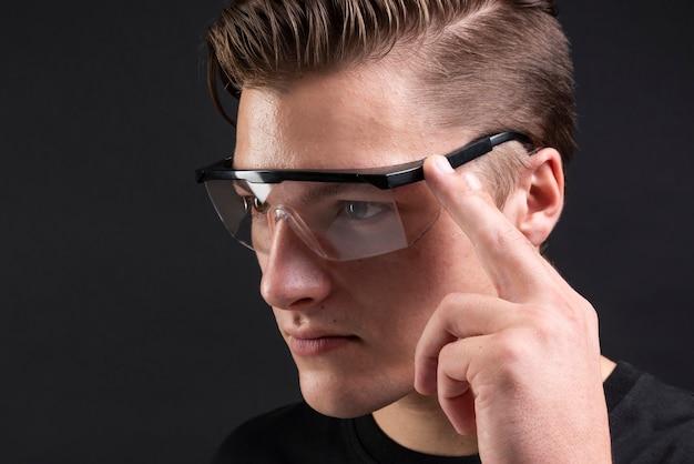 Inteligentne okulary przyszłości technologii