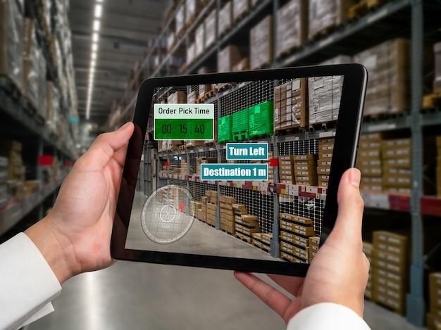 Inteligentny system zarządzania magazynem wykorzystujący technologię rozszerzonej rzeczywistości