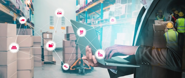 Inteligentny system zarządzania magazynem z innowacyjną technologią internetu rzeczy