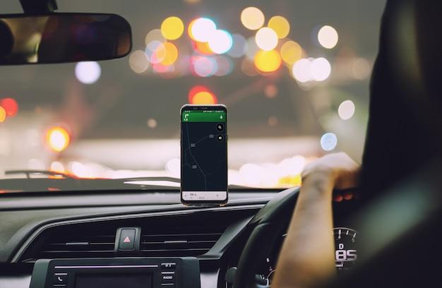 Inteligentny telefon na magnesie uchwyt samochodowy do telefonu gps