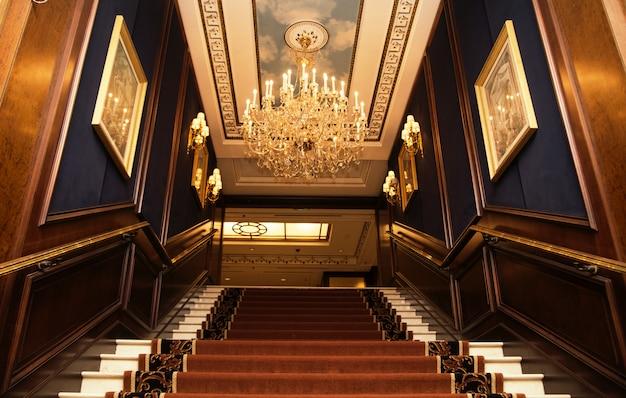 Intercontinental vienna. lobby hotelowe