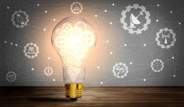 Internet rzeczy i koncepcja technologii komunikacji.