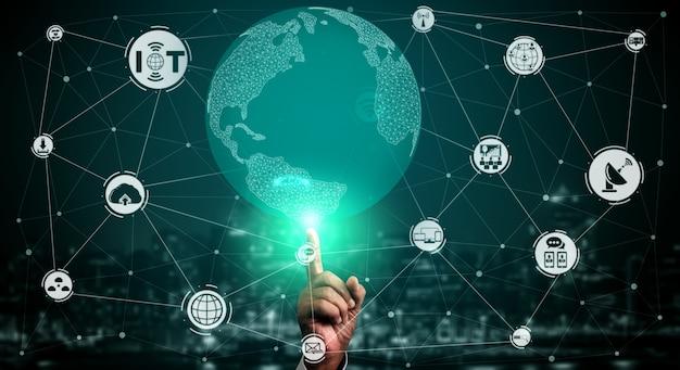 Internet rzeczy i koncepcja technologii komunikacyjnej.
