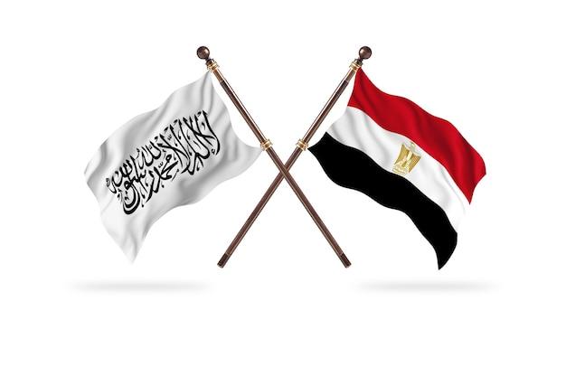 Islamski emirat afganistanu kontra egipt dwie flagi – tło