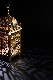 Islamski nowy rok koncepcja z miejsca na kopię