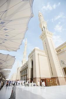 Islamski święty meczet w madina