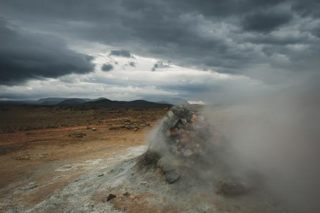 Islandia gaz termalny