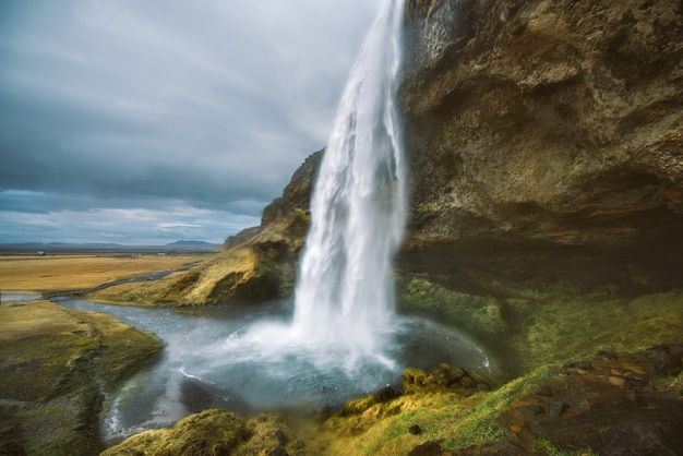 Islandzkie wodospady i cuda