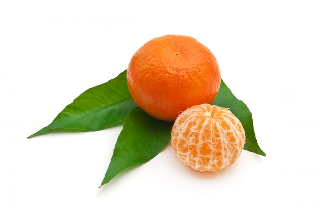 Isoalted mandarynka.