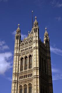 Izby parlamentu, london