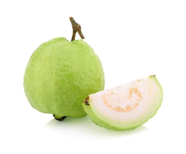 Izolowana guawa (owoce tropikalne)