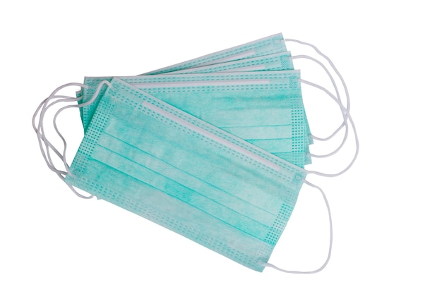 Izolowana maska chirurgiczna zapobiegająca infekcji wirusowej lub zanieczyszczeniu powietrza