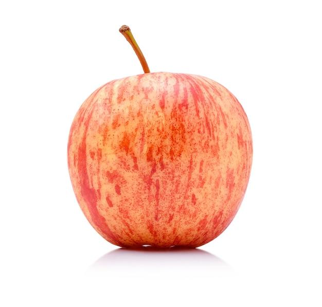 Jabłka galowe izolować na białym tle