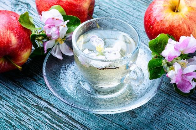 Jabłkowa herbata owocowa