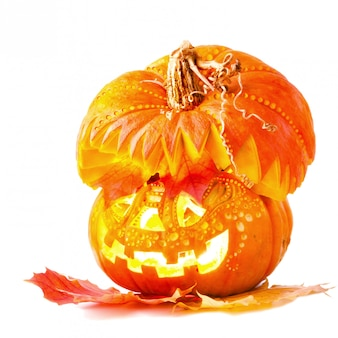 Jack o'lantern na halloween