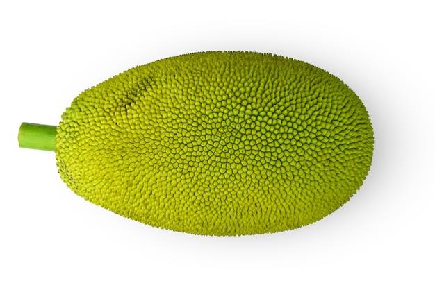 Jackfruit na białym tle