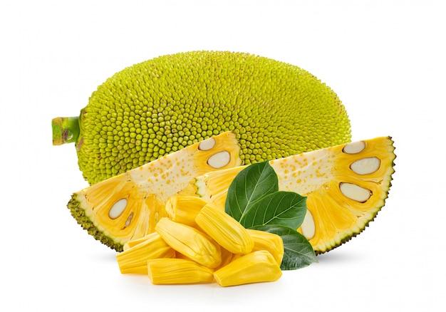 Jackfruit odizolowywający na bielu