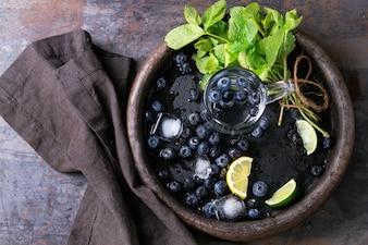 Jagody lemoniady ze składników